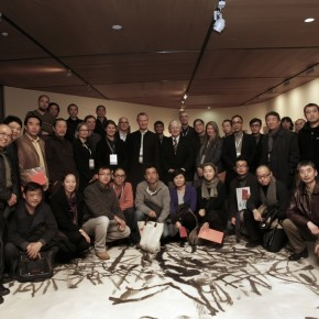 01 Group Photo of Participants of International Colleges of Fine Arts and Design Summit withTeaching Staff of CAFA