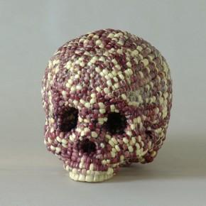 02 Xia Guo-Genetically Modified Corn( series of mutation), 2009; plastic skeleton, leveling gel, 20x14x14cm