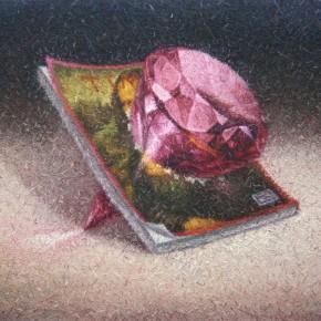 05 Gui Yangfan-Gyro, 2011; oil on canvas, 100X80cm