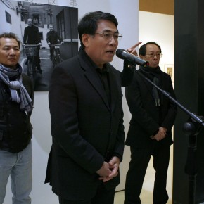 05 President of Chinese Academy of Oil Paintings, Yang Feiyun spoke at Opening Ceremony of The Story of Four Decades
