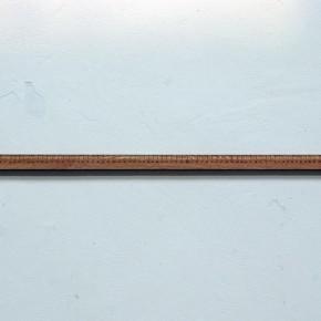08 Song Jianshu-Practical Standard, 2010; Chinese catalpa, 95.5×3×1cm