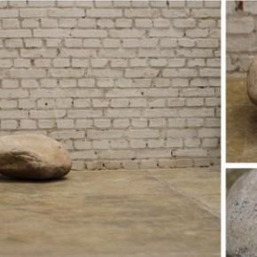 09 Hu Qingta-1985.01.11; stone, 53×50×27cm