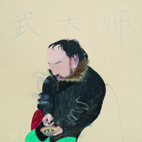 09 Wang Yuping-Master Wu, 2010; oil and acrylic on canvas, 200x160cm