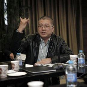 10 Xu Jiang, President of China Academy of Art talked about his experience.