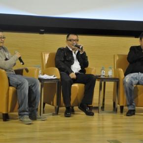 10 Wang Xialu, Wang Xiaoshuai and Zhang Yuan at Forum of A Dream of Twenty Years