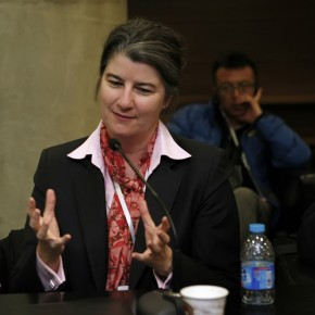 11 Allyson Vanstone, Dean of School of Art and Design in Virginia Commonwealth University, U.S.(Qatar)