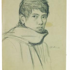 11 Self-portrait of Chen Danqing, 1978