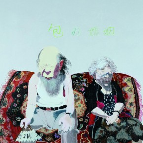 12 Wang Yuping-Monopolized Marriage, 2009; oil painting and acrylic, 200x230cm