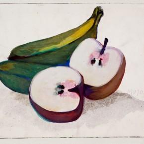 14 Hoo Mojong-Fruits 4; Gouache, 19x25cm