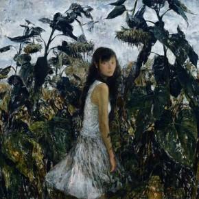 21 Kang Lei-Sunflower 2, 2007; oil on canvas, 150×160cm