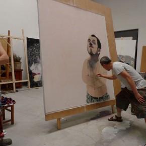 21 Wang Yuping at his Studio