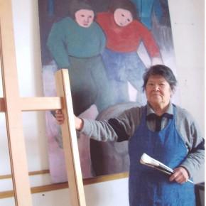26 Hoo Mojiong in her studio