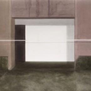 Kang Haitao-The Door, 2011; Acrylic on papter, 101×138cm