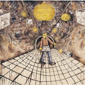 Li Jikai-Lantern, 2011; Acrylic on canvas, 145×200cm