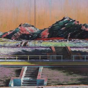 Schattenwanderung 1 2010 Oil on canvas 200 x 140 cm