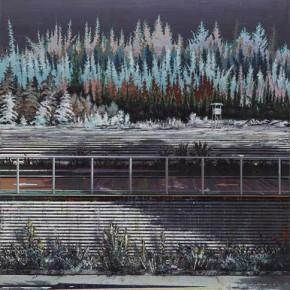 Schattenwanderung 3 2010 Oil on canvas 200 x 140 cm