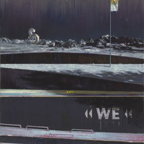 Schattenwanderung 4 2010 Oil on canvas 120 x 90 cm
