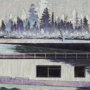 Schattenwanderung 6 2010 Oil on canvas 120 x 85 cm