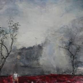 Tu Hongtao-Gray Scenery, 2010; oil on canvas, 155x180cm