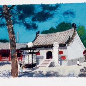"""Wang Yunping, """"Bai Yun Guan No.3"""""""