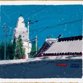 """Wang Yuping """"Bai Ta Si of Jixian County"""" 290x290 - Wang Yuping"""