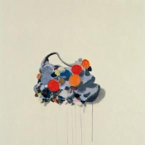 "Wang Yuping ""Buds"" oil painting and acrylic 200 x 110 cm 2009 290x290 - Wang Yuping"