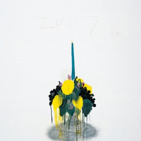 "Wang Yuping ""Candlestick"" oil and acrylic on canvas 150 x 120 cm 2007 290x290 - Wang Yuping"