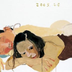 "Wang Yuping ""Dog Days No.1"" oil and acrylic on canvas 74 x 104 cm 2005 290x290 - Wang Yuping"