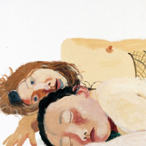 "Wang Yuping ""Dog Days No.2"" oil and acrylic on canvas 104 x 74 cm 2005 290x290 - Wang Yuping"