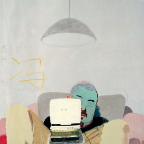 "Wang Yuping ""Feng"" oil and acrylic on canvas 200 x 160 cm 2010 290x290 - Wang Yuping"