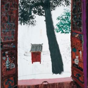 "Wang Yuping ""Garden Searching for Dream"" oil and acrylic on canvas 190 x 150 cm 2007 290x290 - Wang Yuping"
