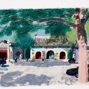 """Wang Yuping, """"Gate of Bai Yun Guan"""""""