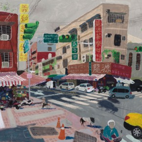 """Wang Yuping, """"Guisui"""", 150 x 120 cm, 2012"""