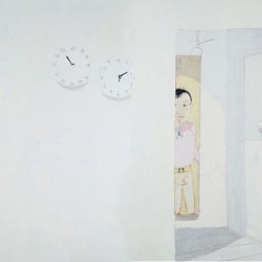 """Wang Yuping """"Home"""" oil on canvas 210 x 400 cm 2009 290x290 - Wang Yuping"""