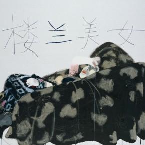 "Wang Yuping ""Kroraina Beauty"" oil and acrylic on canvas 160 x 200 cm 2009 290x290 - Wang Yuping"