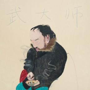 "Wang Yuping ""Master Wu"" oil and acrylic on canvas 200 x 160 cm 2010 290x290 - Wang Yuping"