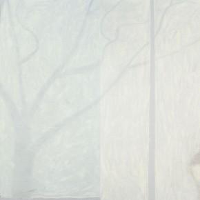 "Wang Yuping, ""Moon Shadow"", oil on canvas, 380 x 190 cm, 2009"