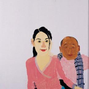 "Wang Yuping, ""Rational Brilliance"", 150 x 120 cm, 2007"