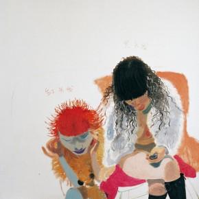 "Wang Yuping ""Red Hair No.2"" oil painting 180 x 170 cm 2008 290x290 - Wang Yuping"
