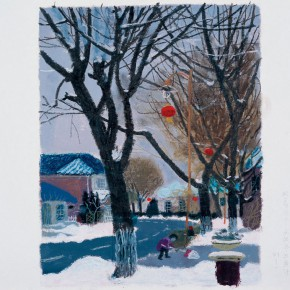 """Wang Yuping """"Snow No.3"""" 290x290 - Wang Yuping"""