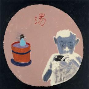 "Wang Yuping ""The Bath"" oil and acrylic on canvas 100 x 100 cm 2010 290x290 - Wang Yuping"