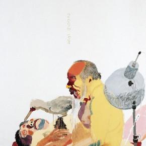 "Wang Yuping ""The Lampshade"" oil painting and acrylic 150 x 120 cm 2006 290x290 - Wang Yuping"