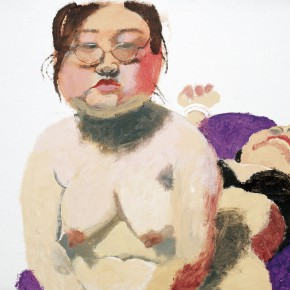 "Wang Yuping ""The Myopia"" oil painting and acrylic 70 x 104 cm 2005 290x290 - Wang Yuping"