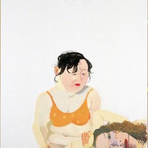 "Wang Yuping ""The Sixth Day of Lunar January"" oil painting and acrylic 150 x 120 cm 2006 290x290 - Wang Yuping"