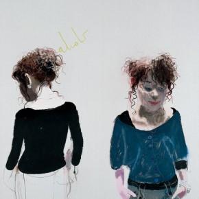 "Wang Yuping ""The Uyghur Girl"" oil and acrylic on canvas 200 x 160 cm 2009 290x290 - Wang Yuping"