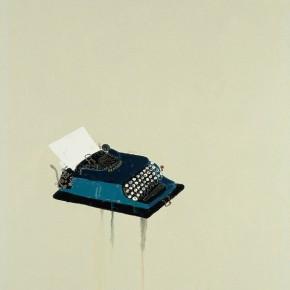 "Wang Yuping ""Typewriter No.1"" oil and acrylic on canvas 200 x 110 cm 2009 290x290 - Wang Yuping"