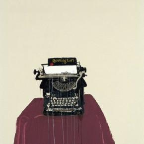 "Wang Yuping ""Typewriter No.2"" oil and acrylic on canvas 200 x 110 cm 2009 290x290 - Wang Yuping"