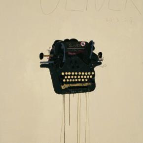 "Wang Yuping ""Typewriter No.3"" oil and acrylic on canvas 200 x 110 cm 2013 290x290 - Wang Yuping"