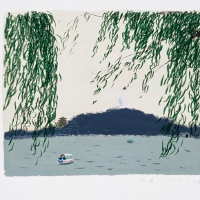 "Wang Yuping ""Willow in the North Sea""  290x290 - Wang Yuping"