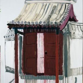 "Wang Yuping, ""Yu Quan Guan No.2"", 190 x 150 cm, oil and acrylic on canvas, 190 x 150 cm, 2007"